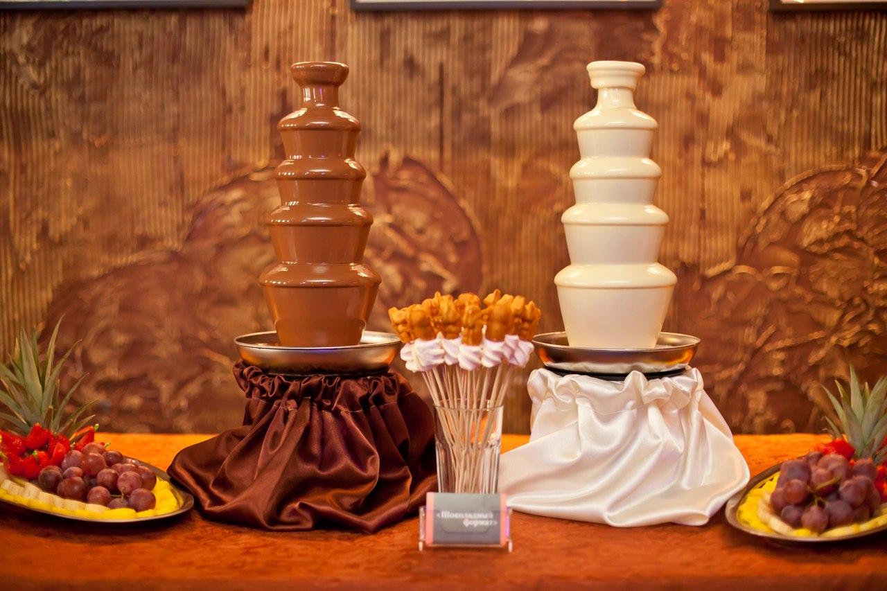 Шоколадный фонтан Пермь