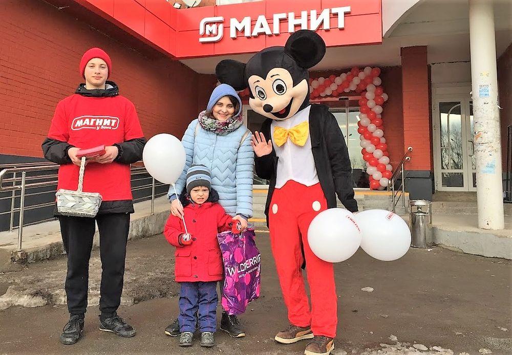 Прокат аренда костюма Микки Мауса в Перми